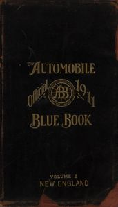 1911 AAA Blue Book